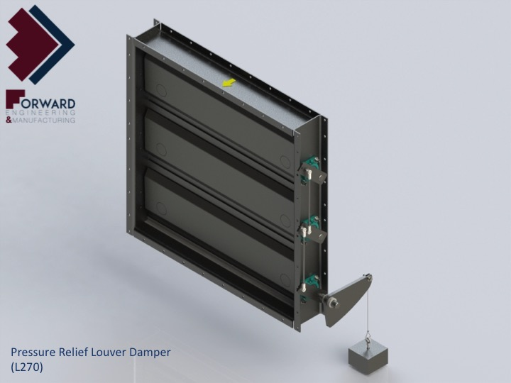 Forward Engineering Amp Manufacturing Pressure Relief Louver